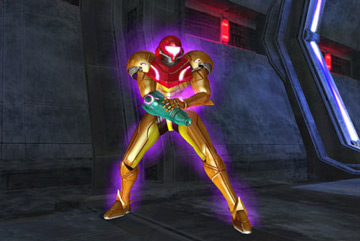 Samus with Gravity Effect